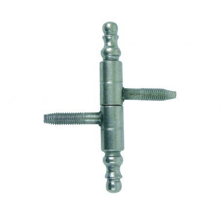 Fiche à visser de style - diamètre du nœud 9 mm
