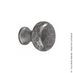 Bouton de meuble 1530 martelé
